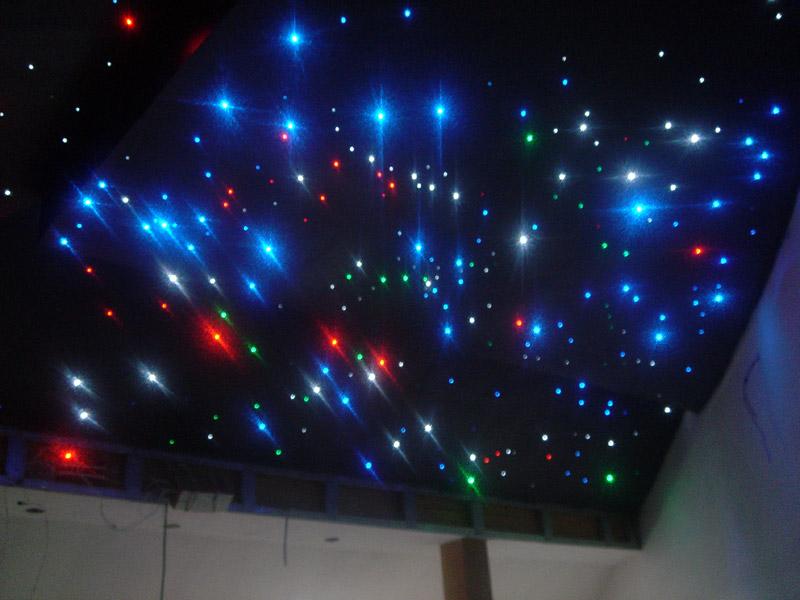 Натяжной потолок звёздное небо своими руками 75